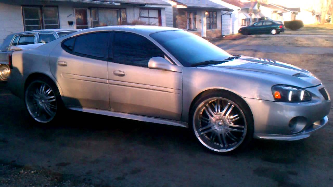 Pontiac Grand Prix On 24 Quot With A Bodykit Youtube