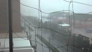 台風9号。