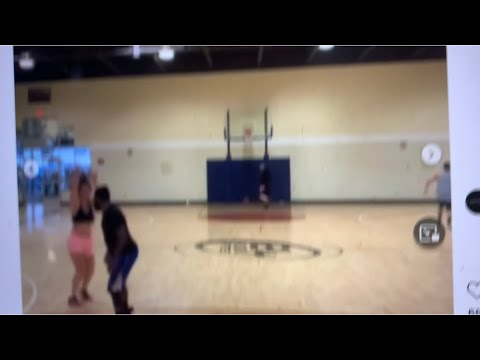 White Girl Schools Black Guy In Basketball At Oakland Jamtown Gym In Instagram Video