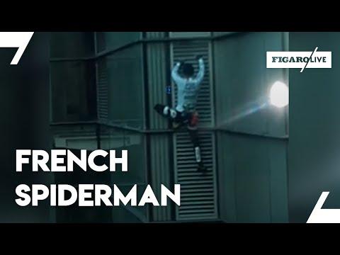 «French Spiderman» escalade la Heron Tower de Londres