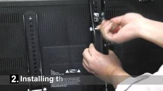 Turbo Teck - Full Motion TV Mount Installation Video