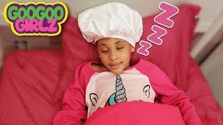 Gaby Wake up! (Morning Routine for School with Goo Goo Girlz)