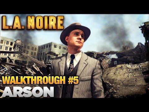 LA Noire Walkthrough Part 5: Arson Desk (5 Stars)