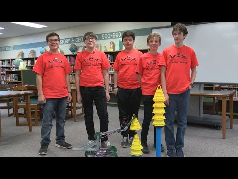Cleveland Middle School Robotics Team gears up for world competition
