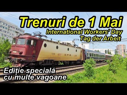 Trenuri de 1 Mai-Special trains on International Workers