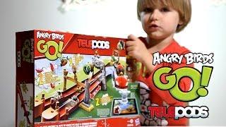 Angry Birds Go! Telepods - Pig Rock Raceway