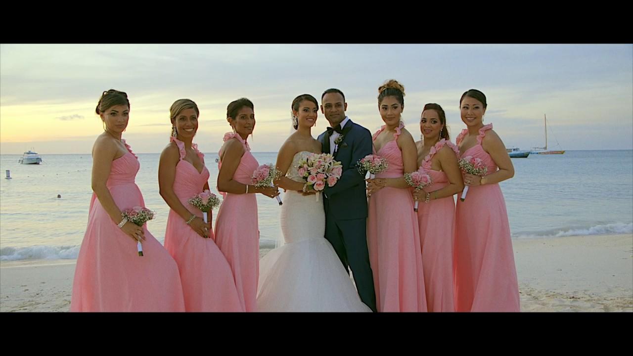 Destination Wedding Riu Palace Aruba 11 16 Sureshwedsmarisa Video By Roy Croes