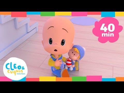 COCHERITO LERE y más canciones. Cleo & Cuquin   Familia Telerín. Canciones Infantiles (40min)