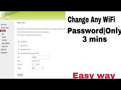 How To Change WiFi Password |Only 3 minutes