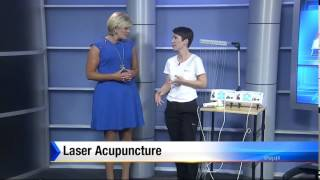 Palmer Acupuncture WJXT Channel 4 News Segment on the amazing Julie Palmer and Laser Acupuncture