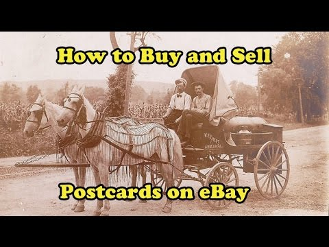 Scavenger Life Episode 276: How to Buy and Sell Postcards on eBay