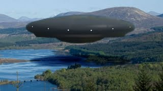 DANGEROUS UFO ALIEN OVER THE LAKE! 20th May 2018!!!
