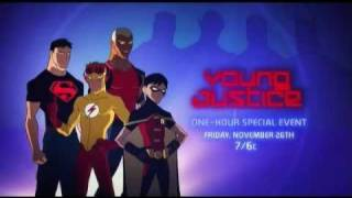 Young Justice: Independence Day Cartoon Network Trailer