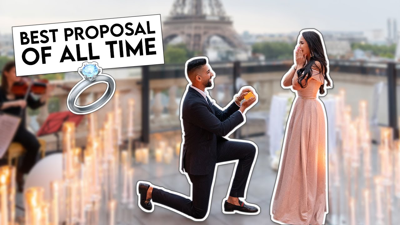 BEST PROPOSAL OF ALL TIME (You will cry) | Dhar and Laura