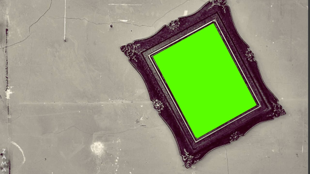 photo frame - green screen free footage