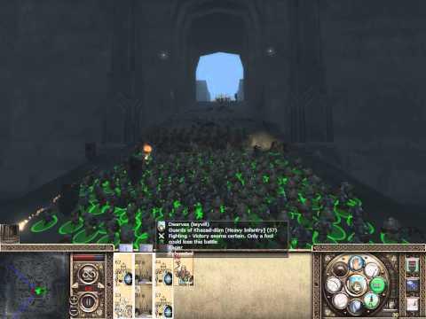Medieval 2: Total War Third Age mod, Штурм Мории