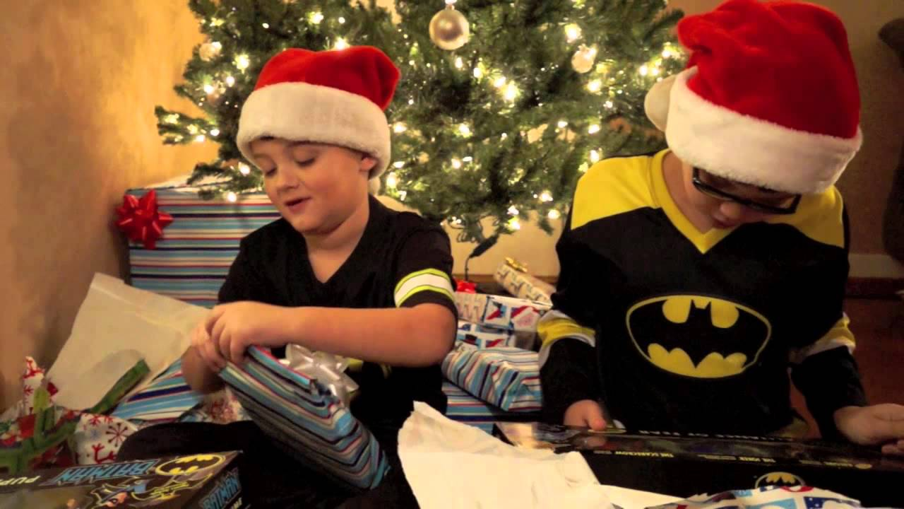 Christmas Morning 2013 Video Keaton Blaze Batman Incredibles Ninja ...
