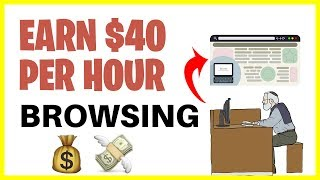 Earn $40 per hour browsing online! make money online for beginners. download done you business ($250+ day passive income): https://www.ryanhildreth.c...