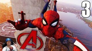 Visitting Avenger's Tower and Dr. Strange's House | Marvel's Spider-Man Part 3