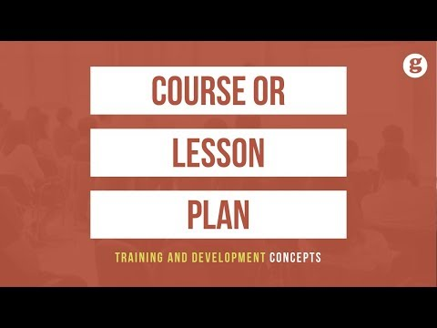 Course Or Lesson Plan