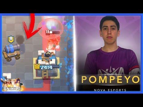EL MEJOR MAZO PARA LADDER - POMPEYO4 - META ACTUAL | CLASH ROYALE con ANIKILO