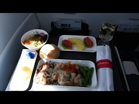 Swiss Business Class   Bombardier CS300   Flight LX2351 HER-GVA