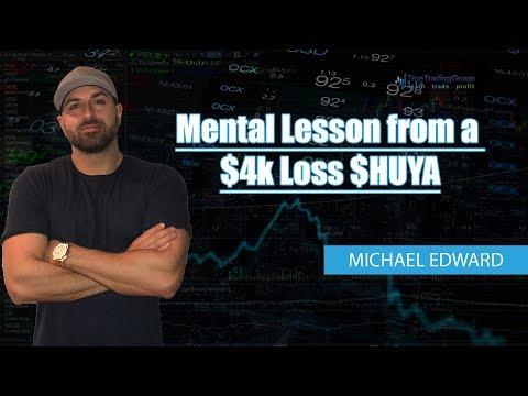 Mental Lesson from a -$4k Loss $HUYA