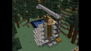 minecraft 1.14.4-1.15.1 TreeFarm dynamite powered (Oak, Birch and Jungle)