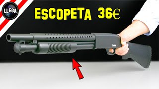 36€ Me Ha Costado Esta ESCOPETA De Airsoft de Iniciación - Cosas Compradas En Internet thumbnail