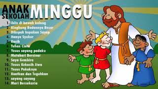 Gambar cover Lagu Rohani Anak Sekolah Minggu Paling Populer 2018 - Volume 1