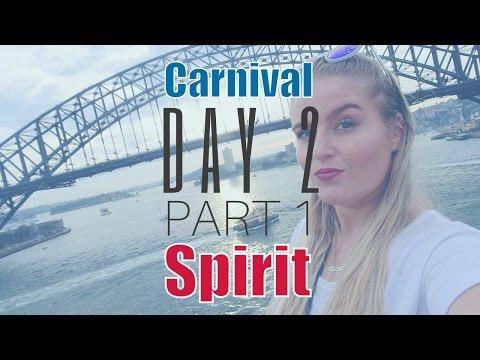 CARNIVAL SPIRIT MAY 2016 VLOGS | DAY 2 PART 1 - SAILAWAY