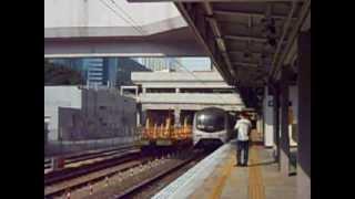 【待避直通車】東鐵綫 MLR E59-E5 駛離沙田站一號月台