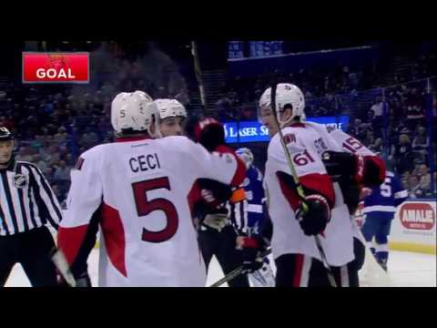 Ottawa Senators at the Tampa Bay Lightning | February 2, 2017 | Game Highlights | NHL 2016/17