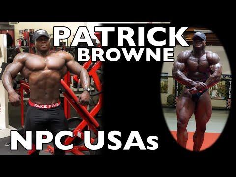Patrick Browne - Heavyweight Bodybuilder Trains Pre NPC USAs (Chest/Triceps/Shoulders)