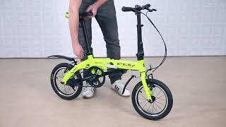 Обзор складных велосипедов Stels Pilot 360 и Stels Pilot 370 2019 года