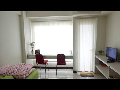 [SEWA] Apartemen Scientia Residence Serpong - Studio Semi Furnished 26m²