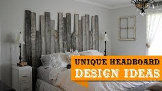 50+ Stylish and Unique Headboard Ideas