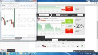 Binary Options- the main strategy. Trading NEWS!