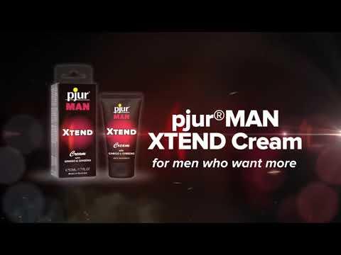 Крем для усиления эрекции MAN XTEND Cream от Pjur Германия.