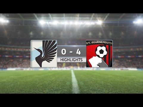 HIGHLIGHTS: Minnesota United FC vs. AFC Bournemouth | July 20, 2016