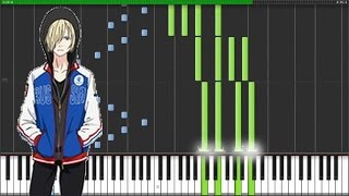 "【FULL】[Yuri!!! on Ice OP] ""History Maker"" - Dean Fujioka (Synthesia Piano Tutorial) [MIDI+Sheets DL]"
