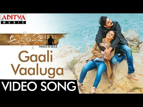 Gaali Vaaluga Video Song || Agnyaathavaasi...