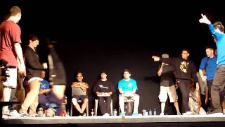 Just 4 Funk vs Soul Mavericks  | Regional Conflict UK Bboy Championships 2012 | Crew Battle
