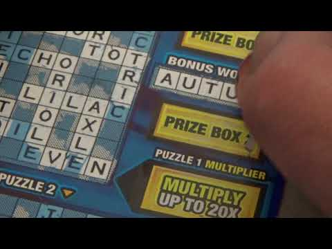 Multiplier, Twisted, Crosswords, Money In The Bank Lottery Scratcher Challenge