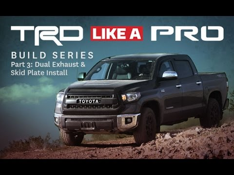 TRD Like A Pro Build Series Part 3
