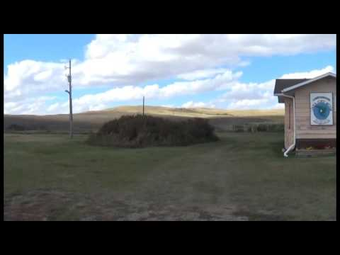 The Wood Mountain Lakota First Nations Band Office (Fall 2016)