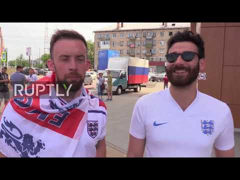 Russia: England and Sweden fans forecast quarterfinal clash