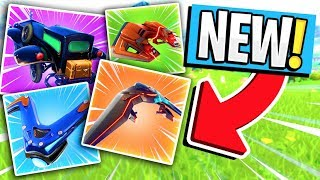*NEW* FORTNITE LEAKED GLIDERS IN SEASON 4! (Terminus, Viceroy Mark I, Forerunner, Destabilizer)