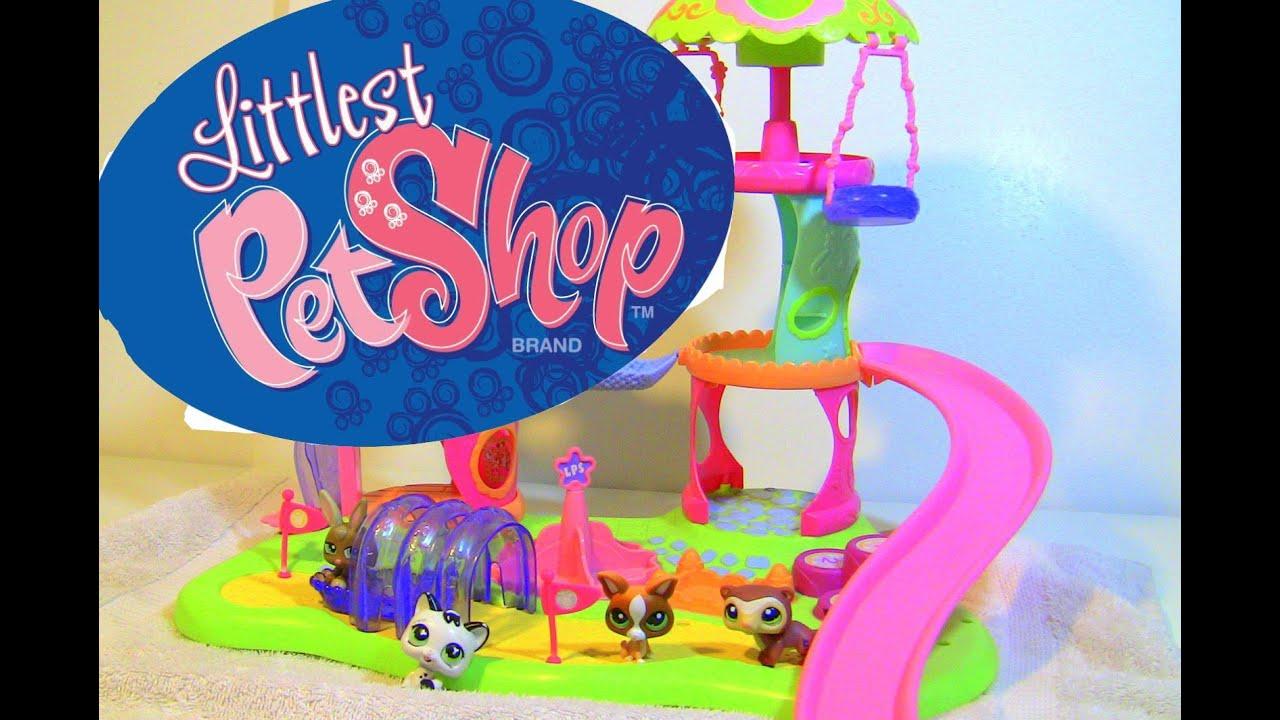Littlest Pet Shop Whirl Around Playground Play Set Toy ...
