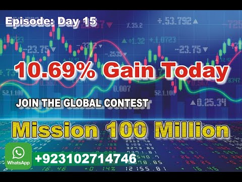 episode-day-15,-10.69%-gain-today,-successful-trading-in-high-volatile-market